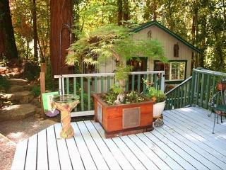 Guerneville Cottage, Decks, Skylight ,Hot Tub! Romantic Getaway!