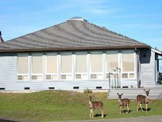 'Sea Crest', Cozy! Great Ocean Views, 1 min.drive to beach, Meandering Deer,, Dillon Beach