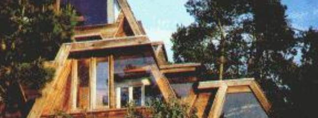 Architect designed all wood & glass hideaway