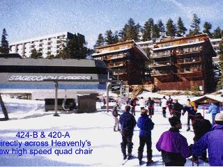 Ski IN/OUT Skier / Snow Boarder's Delight 'B'