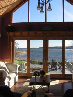 View of Howe Bay from front sitting room