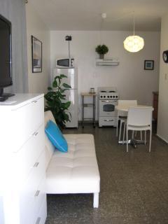 Studio apartment.