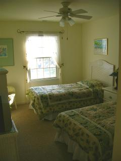 one of eight sunny bedrooms, sleeps 2