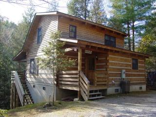 Boone Secluded Creek Cabin/Hot Tub/Hike/FP/Fish/WiFi/Spring Discount/Free Nights