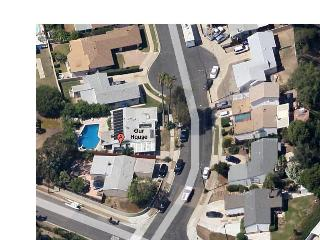 House with large pool, plenty of parking