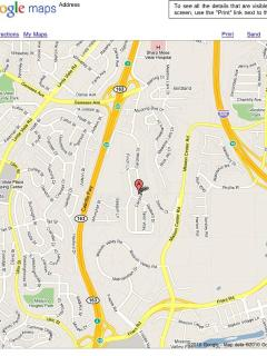 Located close to major freeways