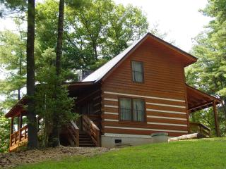 Secluded Honeymoon Cabin/Hot Tub/WiFi/FP/Christmas Tree Pkg or Winter Rates, Boone