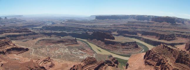 Dead Horse Point Overlook- A MUST if you have time