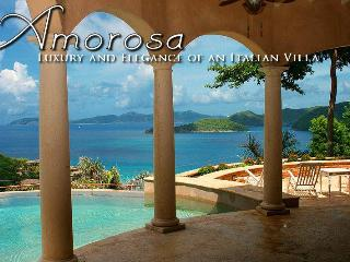 Old World Vacation Villa; Amorosa Peter Bay Beach, Virgin Islands National Park