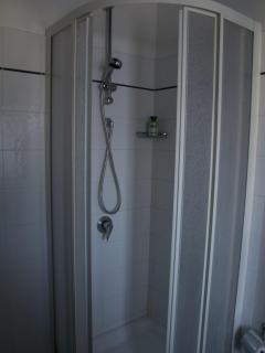 Round shower  - also custom built