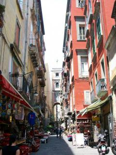 via san gregorio armeno: the most beautiful location in the old town!