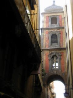 san gregorio armeno's tower bell from the Small Flat