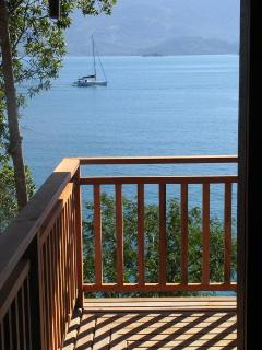 View from the deck and rooms