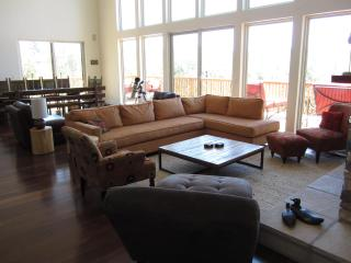Living area opens onto dining area, which opens onto the kitchen. Ideal for spending time together.