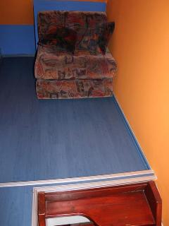 Upstairs couch