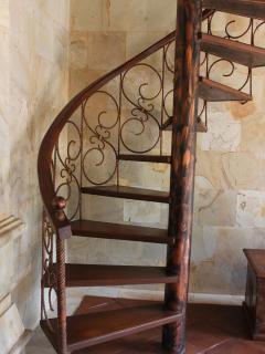 Staircase - villa interior