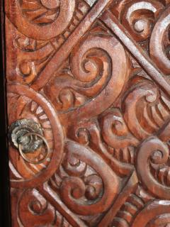 Guest house door detail