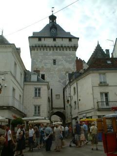 Loches Market - very popular with tourists and locals alike!