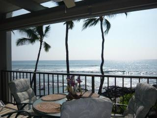 Absolute OCEANFRONT  on  Banyan's Surfing Beach!, Kailua-Kona
