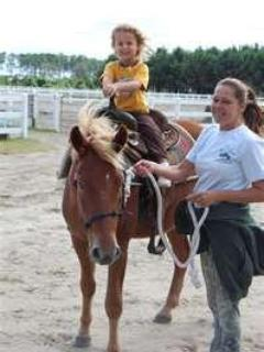 Pony rides for children under 10 at The Ranch, 10 min from Milton