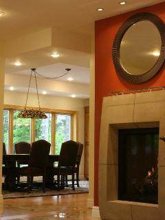 1st FLOOR LIVING ROOM with GAS FIREPLACE