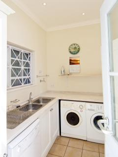 Scullery with Washing Machine, Dishwasher and Tumble Dryer