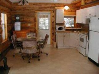 Kitchen / Dining area of Grandpa's Cabin