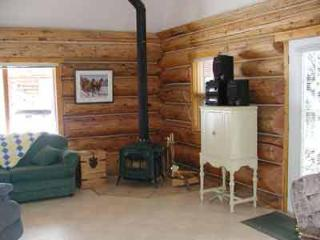 Living area of Grandpa\'s Cabin