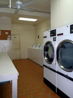 Token-Operated Laundry Room Available