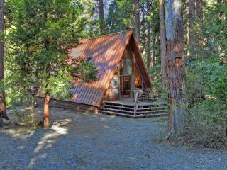 Idyllcreek A-Frame Vacation Cabin - Walk to Town!