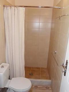En suite shower just off the master bedroom