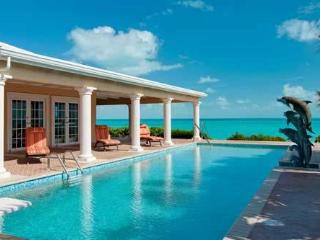 Three Dolphins Beachfront Tennis Villa 4-12 bedrooms,24/7 dedicated concierge, Long Bay Beach