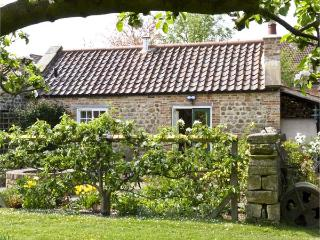 THE SUN HOUSE, romantic, luxury holiday cottage, with a garden in Ferrensby, Ref