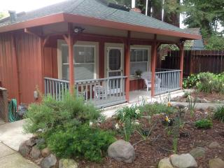 Riverfront Wine Country Cottage With Spa/Views, Healdsburg