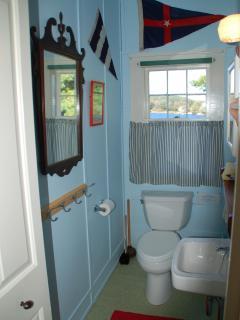 Upstairs half-bath
