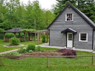 Willow Farm Cottage on 22 acre Quadra Island farm.
