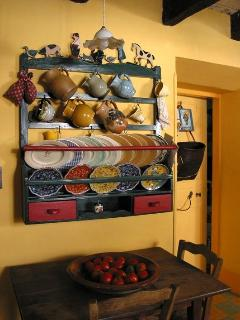 Old farmhouse  kitchen dresser of the Languedoc