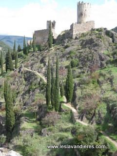 Ruins of the old Cathar Castles of Las Tours