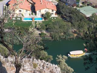 Villa (sleeps 6) at Dalyan center by riverside
