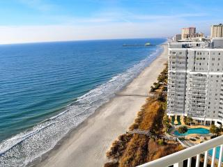Spectacular Oceanfront 3 Bedroom Penthouse at Seawatch Resort, Myrtle Beach