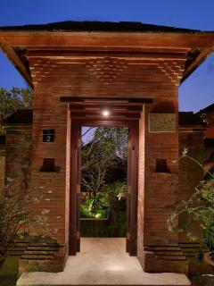 Villa Bunga Pangi Entrance