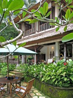 Poolside at Ria Sayan