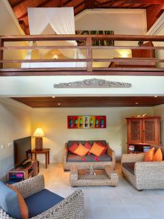 Villa Bunga Wangi Study/TV Lounge & Mezzanine Bedroom