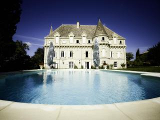 Luxury Chateau: 8 bedrooms, private pool & tennis, Castelsagrat