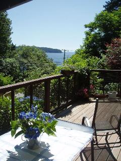 Dine out of doors - steps from the kitchen