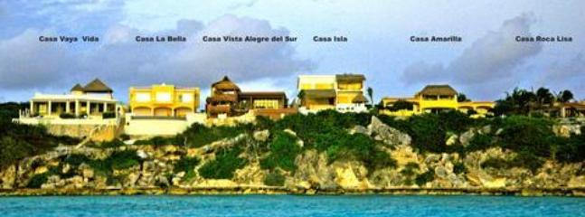 6 LUXURY PRIVATE VILLAS AT THE SOUTHERN TIP OF ISLA MUJERES at PUNTA SUR