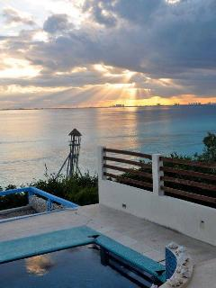 ANOTHER AMAZING SUNSET FROM THE VILLA