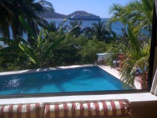 View of adjacent pool.