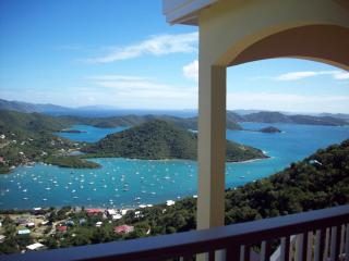 Island Horizons Villa   -  A million dollar view!, Coral Bay