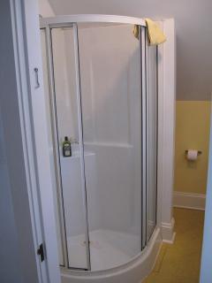 Shower Enclosure Upper Level